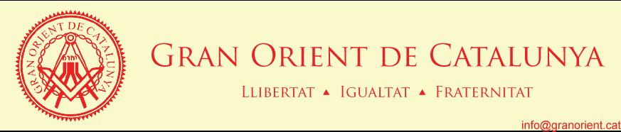 Gran Orient de Catalunya - Maçoneria Universal - Família Catalana